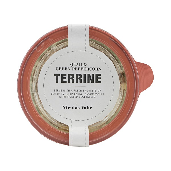NV terrine quail peppercorn 110g
