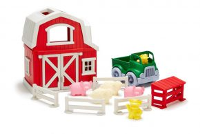 Green Toy set Farm boerderij