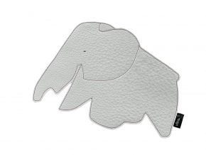 VR elephant mouse pad sneeuw