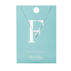 OR ketting F zilver