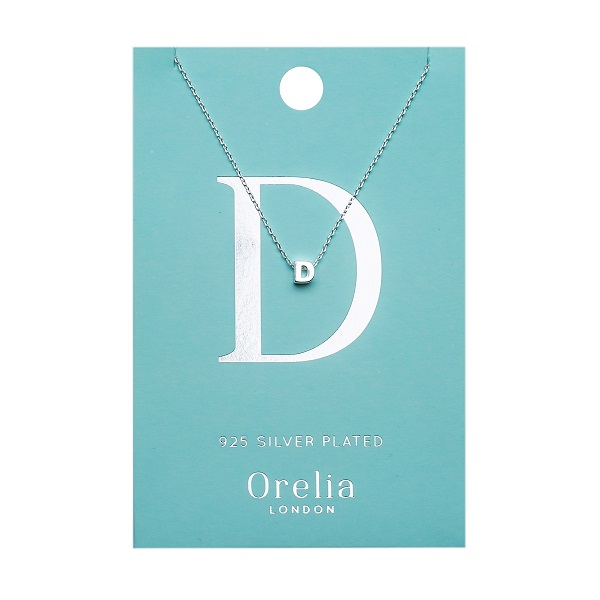 OR ketting D zilver