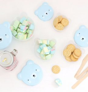 ALLC snack box bear blue