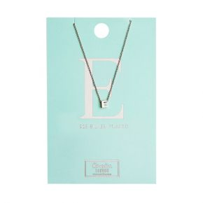 OR ketting E zilver