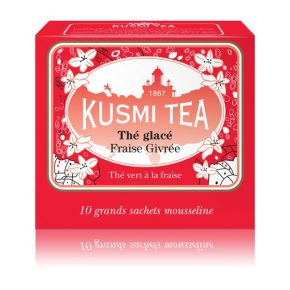 Kusmi ijsthee Frosted Strawberry