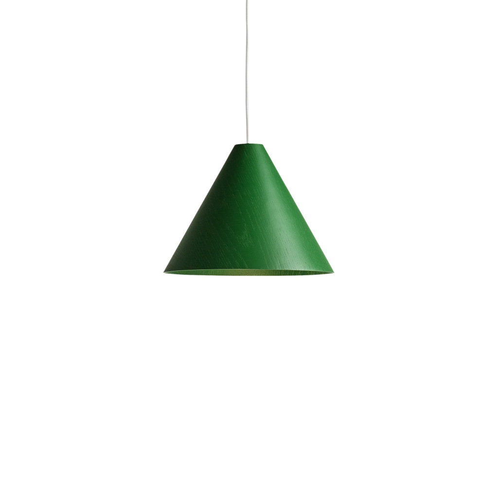 HAY lamp 30degree XL groen + koord
