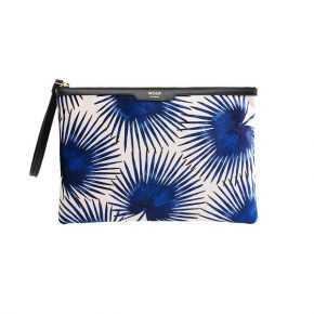 WF night clutch Blue Palms