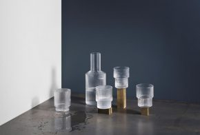 FERM set 4 Ripple water glas