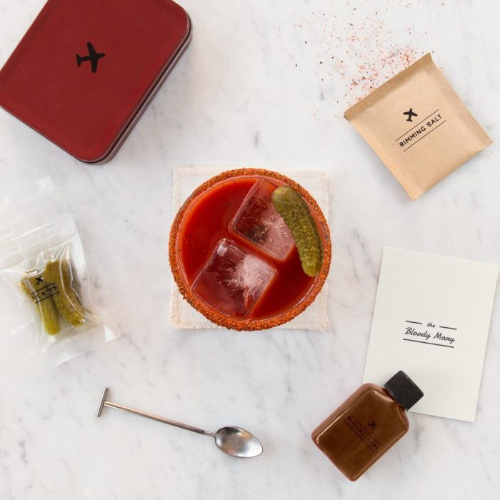 W&P cocktail kit Bloody Mary