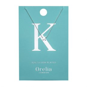 OR ketting K zilver
