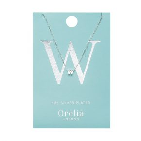 OR ketting W zilver