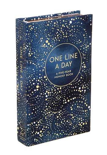 Boek One line a day celestial