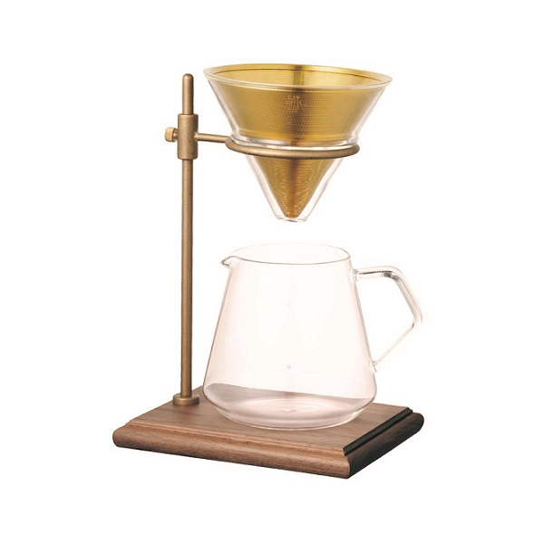 Kinto brewer stand goud 4cups
