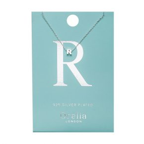 OR ketting R zilver