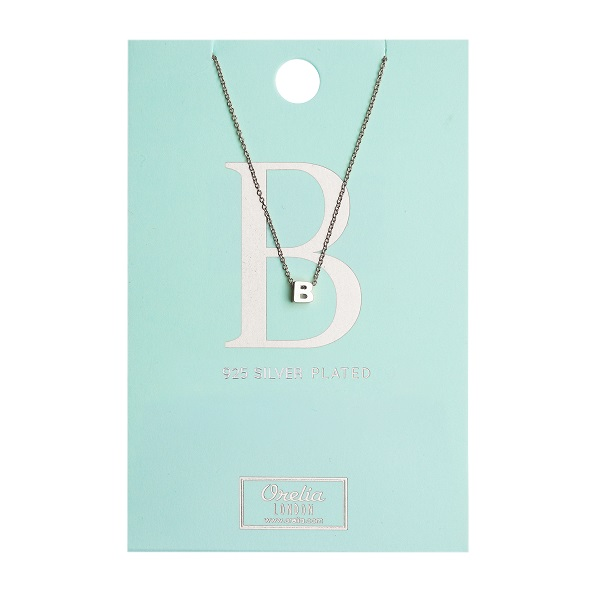 OR ketting B zilver