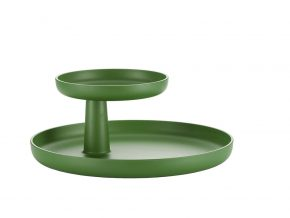 VR rotary tray palm green