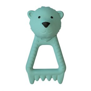 FLOW teether Bjorn blauw