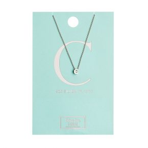 OR ketting C zilver