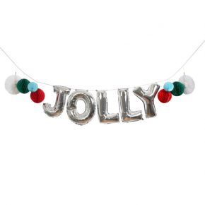Meri jolly balloon garland kit