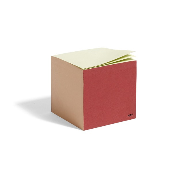 HAY paper cube Rusty Red