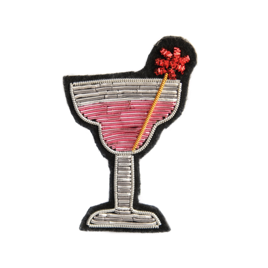 &k broche pink cocktail
