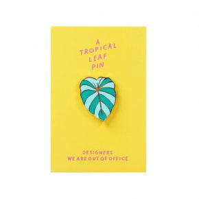 &k pin tropical leaf