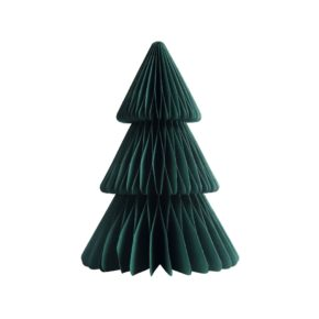 &k christmas tree paper M green