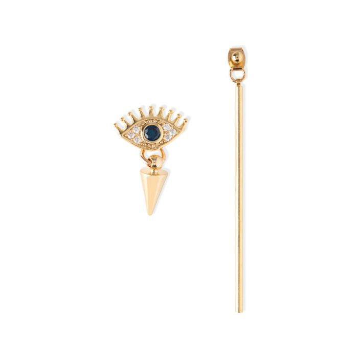 OR oorbel evil eye bar