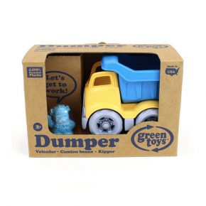 Green toy kleine dumper