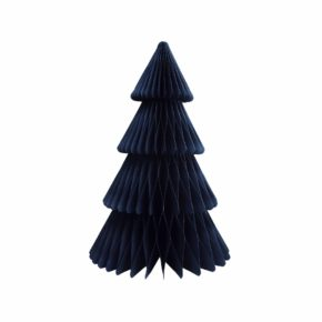 &k christmas tree paper L blue