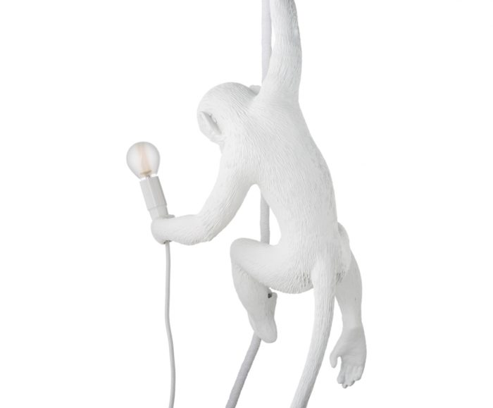 ST lamp Monkey plafond wit