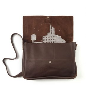 KC tas business dark brown
