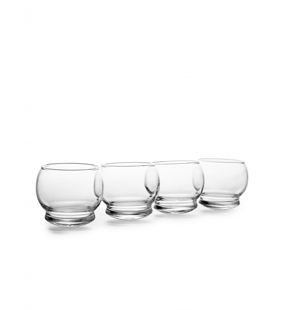 NC rocking glass set 4