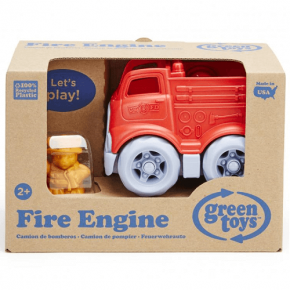 Green Toy Mini Fire Truck