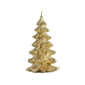 &k candle Christmas tree gold S