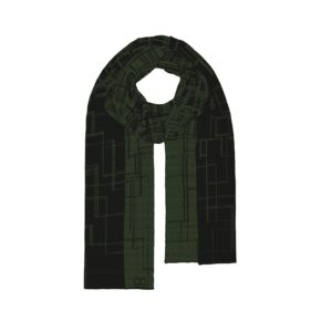 TV shawl groen binary