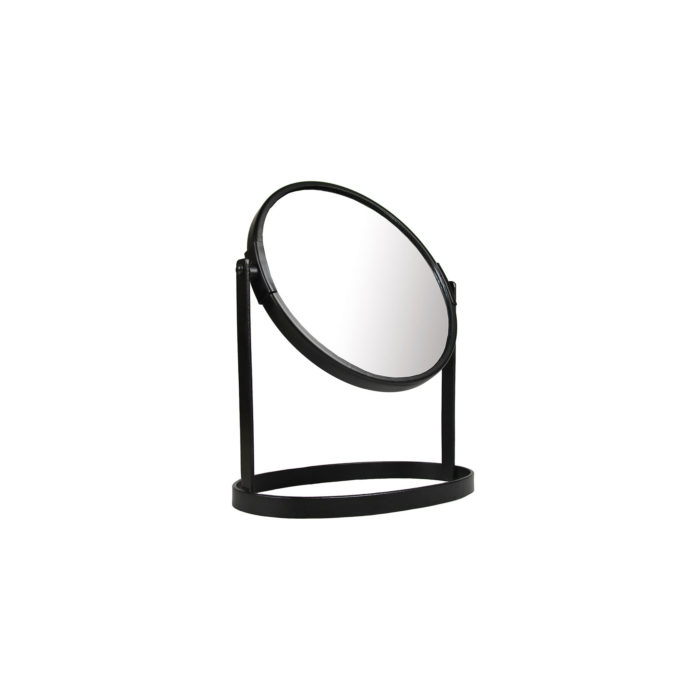 &k mirror on stand black small