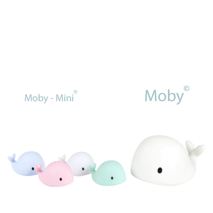 FLOW moby mini blauw
