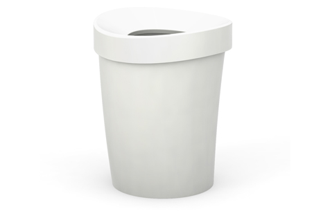 VR office bin L white