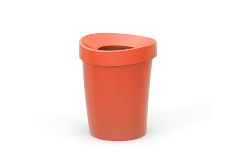 VR office bin S poppy red