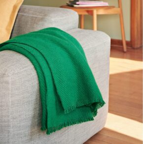 HAY mono blanket grass green