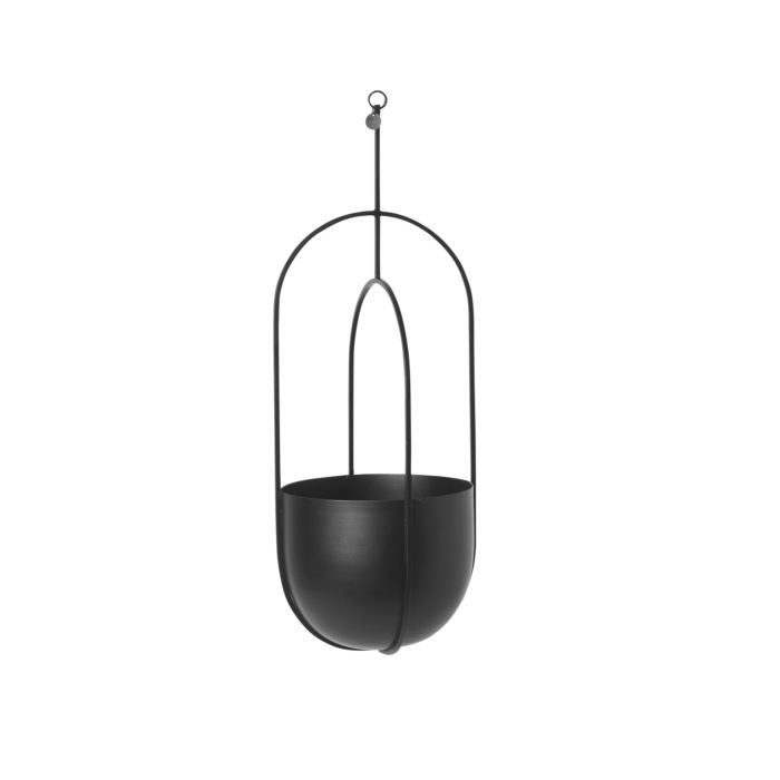 FERM hanging pot black