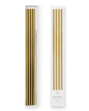 W&P metal straw gold L