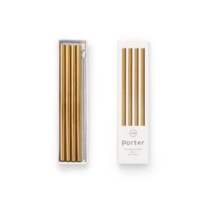 W&P metal straw gold S