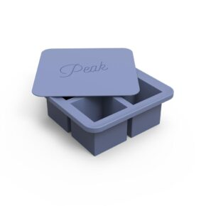 W&P large ice cube tray blue