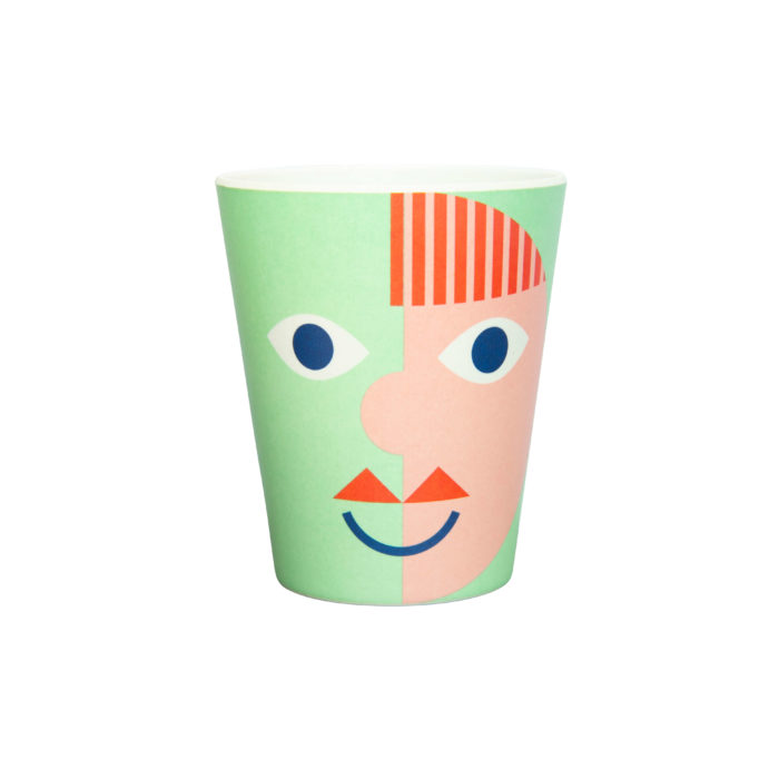 global-affairs-bamboo-mug-face-green-&k-klevering